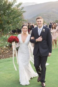Kylie & Kieran's wedding ceremony by Carlie Statsky